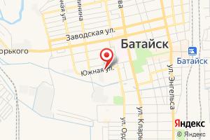 Адрес Газпром газораспределение Ростов-на-Дону, филиал в г. Батайске на карте
