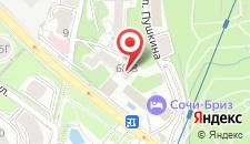 Гостиница Сочи-Бриз на карте