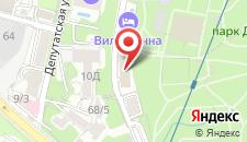 Гостевой дом Виктор на карте