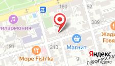 Отель Державин на карте