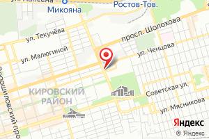 Адрес Ростовводоканал на карте