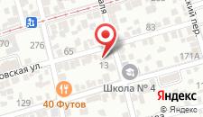 Гостевой дом Очаковский на карте