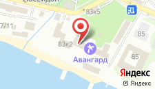 Санаторий Авангард на карте