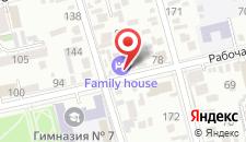 Отель Family House на карте