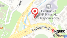 Отель Старт на карте