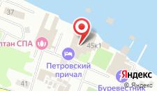 Гостиница Петровский Причал на карте