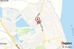 Адрес Ярославское на карте