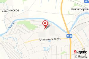 Адрес Электрическая подстанция Ананьино на карте