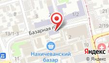 Отель Байрон на карте