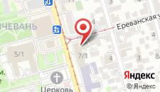 Гостиница Севан Плаза на карте