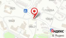 Отель Лазурит на карте