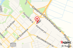 Адрес Канализационная насосная станция № 6 на карте