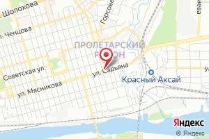 Адрес Коммуникационное Аксайское очистное сооружение Водоканал на карте