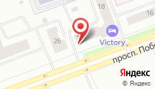 Мини-отель Victory на карте