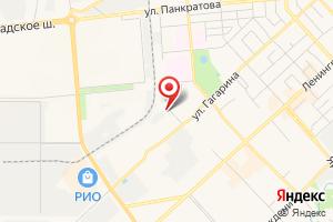 Адрес ТехноГазСервис на карте