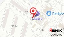 Мини-отель Сказка на карте