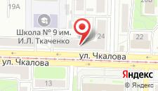 Хостел Чкаловский на карте