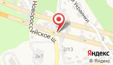 Гостевой дом Торнау на карте