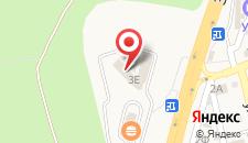 Отель Европейский на карте
