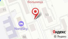Мини-отель NordSky на карте