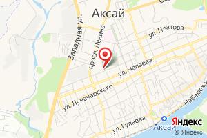 Адрес Газпром газораспределение Ростов-на-Дону, филиал в г. Аксае на карте