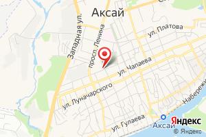 Адрес Газпром межрегионгаз Ростов-на-Дону, абонентский участок в г. Аксае на карте
