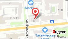 Хостел Аккорд24 на карте