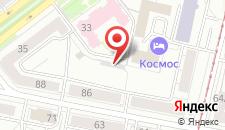 Гостиница Космос на карте