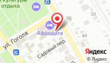 Гостиница Афродита на карте