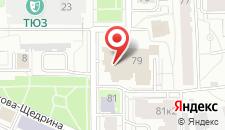 Гостиница Юта на карте