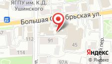 Гостиница Кристайл на карте