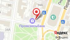 Гостевой дом На Пушкина на карте