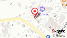 Гостиница Любим на карте