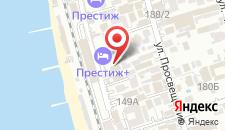 Гостиница La-Costa на карте