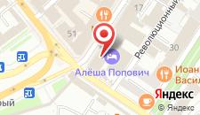 Гостиница Алеша Попович Двор на карте