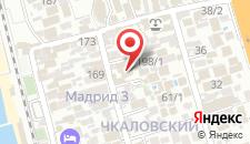 Гостевой дом Рафаэль на карте