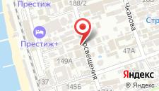 Гостиница Надежда на карте