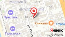 Отель Тетис на карте
