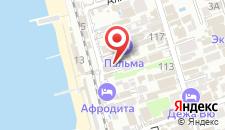 Гостевой дом Дельфин на карте
