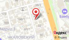 Мини-отель Летуаль на карте