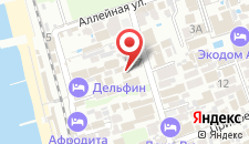 Гостиница Вера на карте