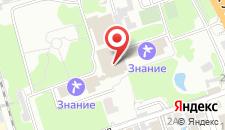 Санаторно-курортный комплекс Знание на карте