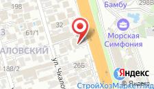 Гостиница Янаис на карте