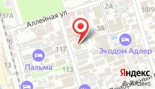 Гостиница Анжела на карте