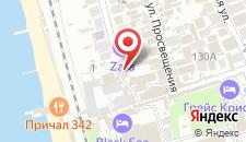 Гостиница ZARA на карте