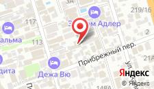 Курортный отель Экодом Фэмили 2* на карте