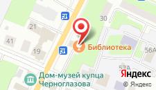 Бутик-Отель Библиотека на карте