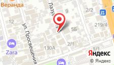 Гостиница Лазурный бриз на карте