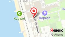 Гостиница Оазис на карте