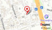 Отель Олимпия Адлер на карте